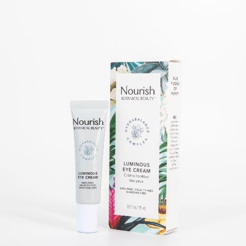 Nourish Botanical Beauty Luminous Eye Cream 15 ml Canada