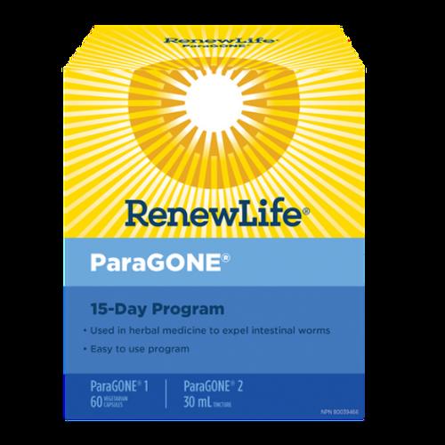 Renew Life - ParaGONE 15-Day Program New Look