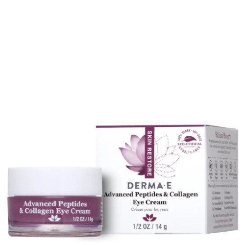 Derma E Advanced Peptides & Collagen Eye Cream 14 grams