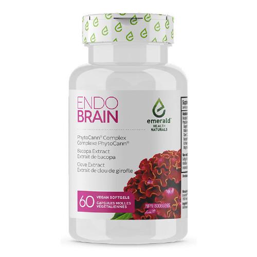 Emerald Naturals  Endo Brain 60 vegan softgels