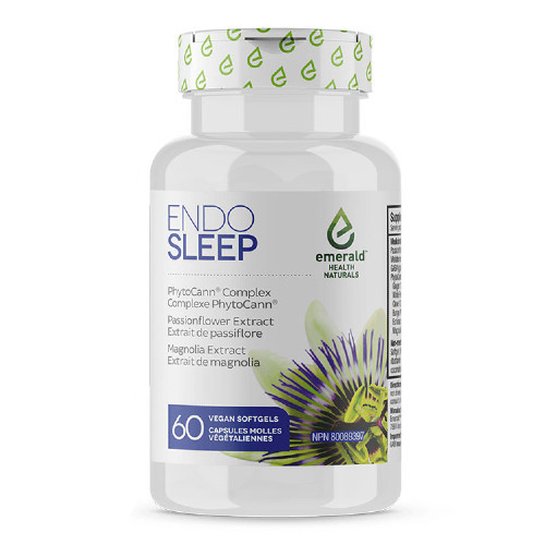 Emerald Naturals Endo Sleep 60 vegan softgels