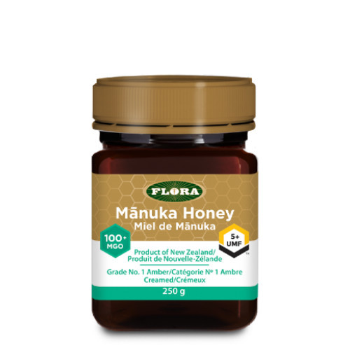 Flora Manuka Honey 100+ MGO 5+ UMF 250 grams