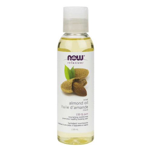 NOW Sweet Almond Oil 100% Pure 118 ml