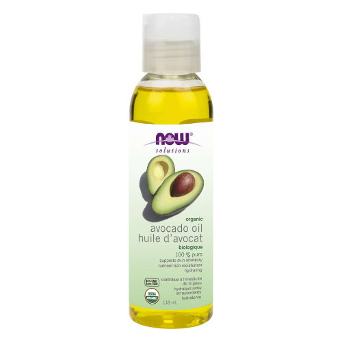 NOW Organic Avocado Oil 100% Pure 118 ml