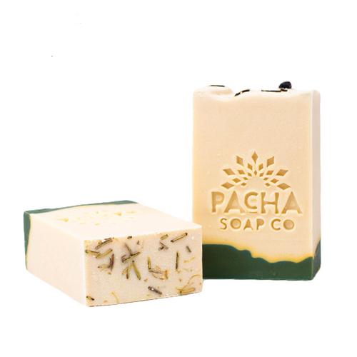 Pacha Soap Co. Pines & Needles Bar Soap