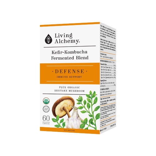 Living Alchemy Defense Immune Support 60 Pullulan Capsules
