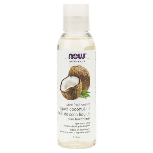 NOW Pure Fractionated  Liquid Coconut Oil 118 ml