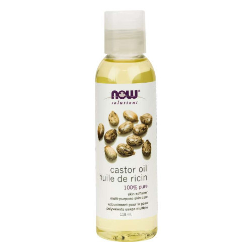 NOW Castor Oil 100% Pure 118 ml
