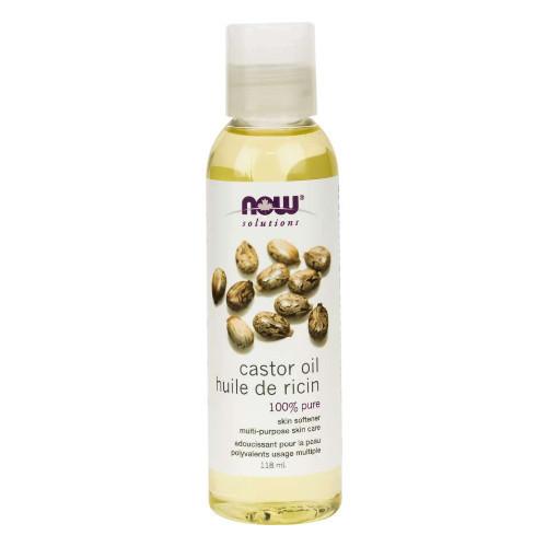 NOW Castor Oil 100% Pure 118 ml