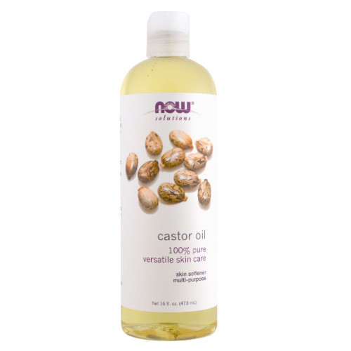 NOW Castor Oil 100% Pure 473 ml