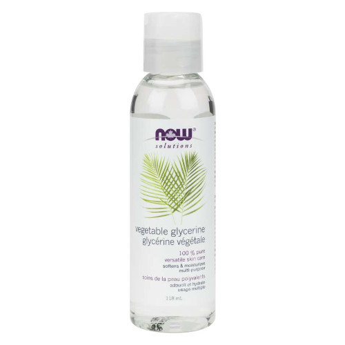 NOW Vegetable Glycerin 100% Pure 118 ml