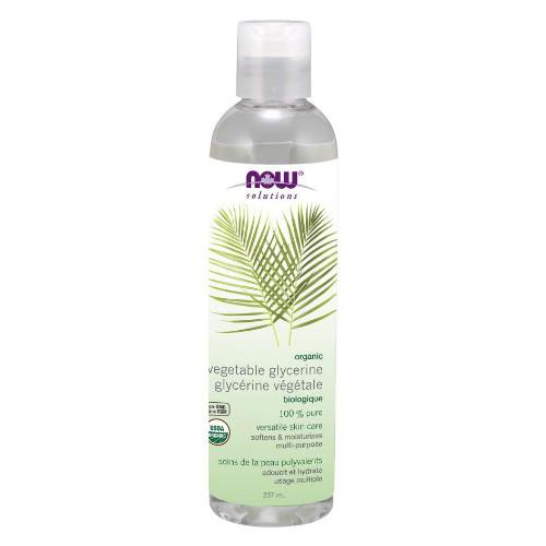 NOW Organic Vegetable Glycerin 100% Pure 237 ml