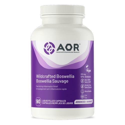 AOR Wildcrafted Boswellia inflammation joint pain Canada