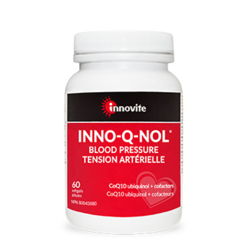 Innovite INNO-Q-NOL Blood Pressure 60 softgels