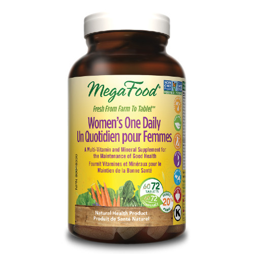 MegaFood Women One Daily 72 tablets Canada