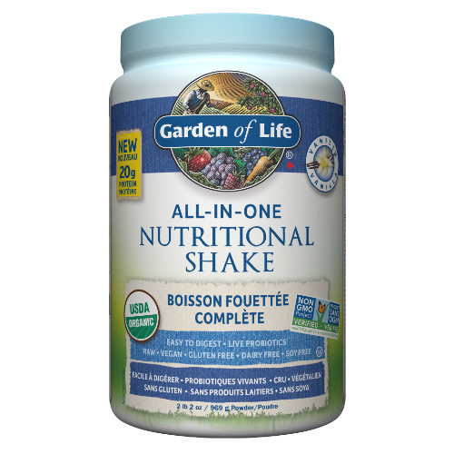 Garden of Life Vanilla All-In-One Nutritional Shake Canada