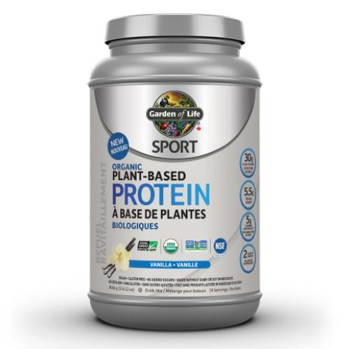 Garden of Life Organic Plant Based Protein Vanilla 806 grams