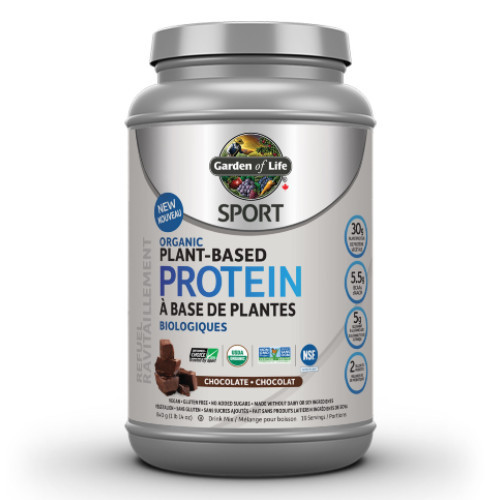 Garden of Life Sport Organic Plant Based Protein Chocolate 840 grams
