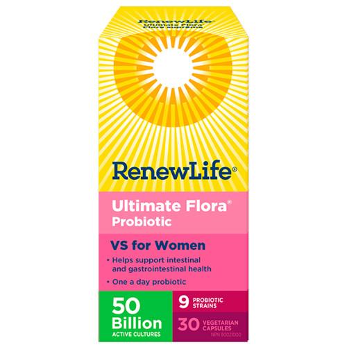 Renew Life Ultimate Flora Probiotic  VS for Women 50 billion 30 veg caps Canada