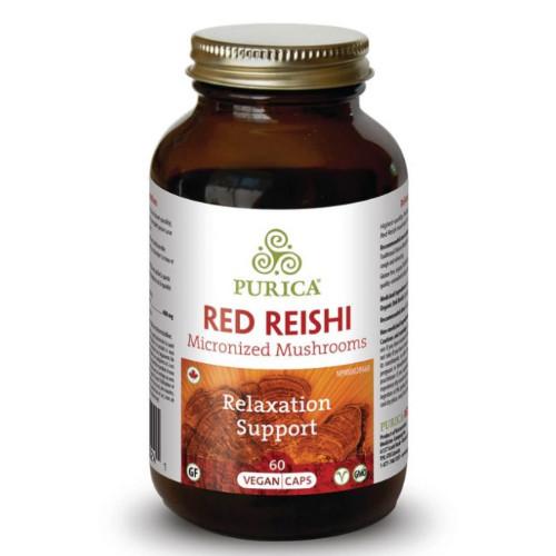 Purica Red Reishi Micronized Mushrooms 60 vegan caps