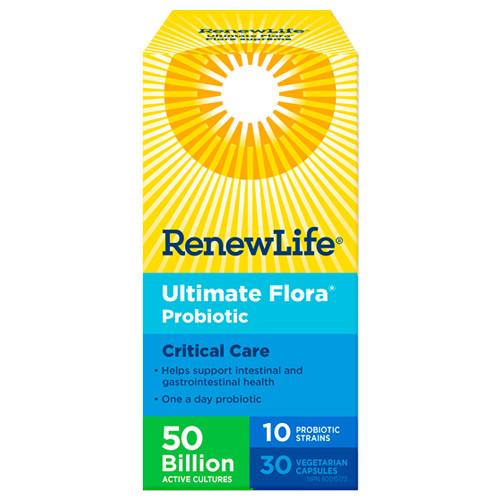 Renew Life Ultimate Flora Probiotic Critical Care 30 veg caps