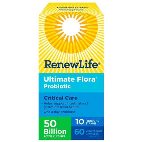 Renew Life Ultimate Probiotic Critical Care 60 veg caps Canada
