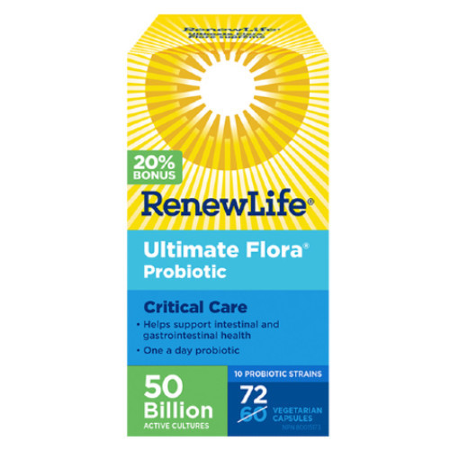 Renew Life Ultimate Probiotic Critical Care 72 veg caps