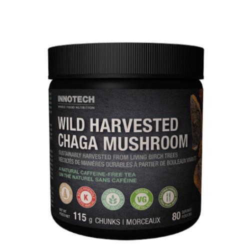 Innotech Wild Harvested Chaga Mushroom Chunks  115 grams