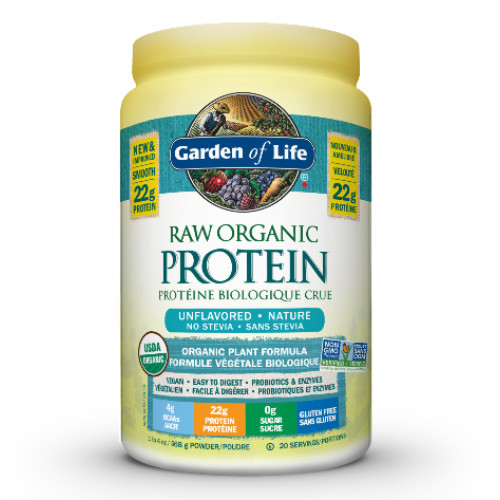 Garden of Life Raw Organic Protein Unflavoured  568 grams