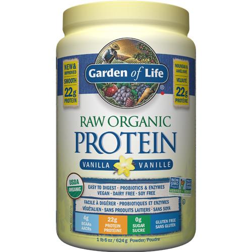 Garden of Life Raw Organic Protein Vanilla 620 grams powder