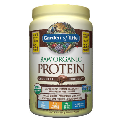 Garden of Life Raw Organic Protein Chocolate 660 grams
