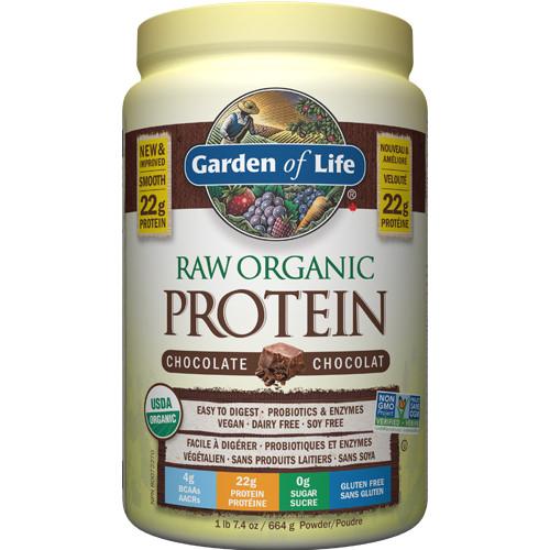 Garden of Life Raw Organic Protein Chocolate 660 grams powder