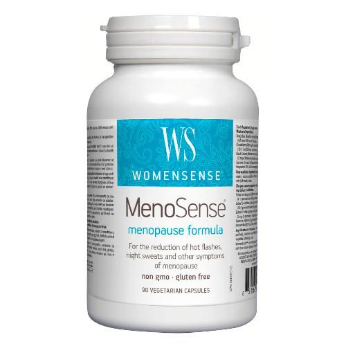 Womensense MenoSense menopause formula.  90 veg caps Canada
