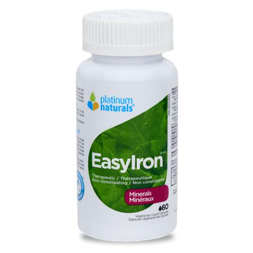 Platinum Naturals EasyIron 60 vegetarian liquid capsules