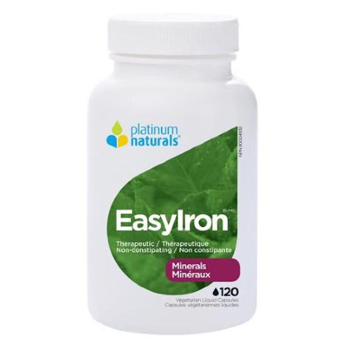 Platinum Naturals EasyIron 120 vegetarian liquid capsules