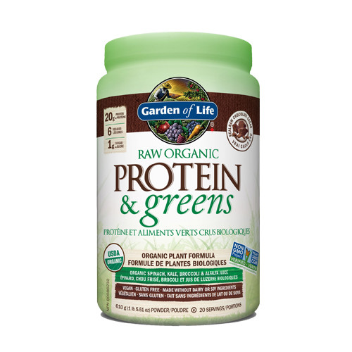 Garden of Life Raw Organic Protein & Greens Chocolate 610 grams
