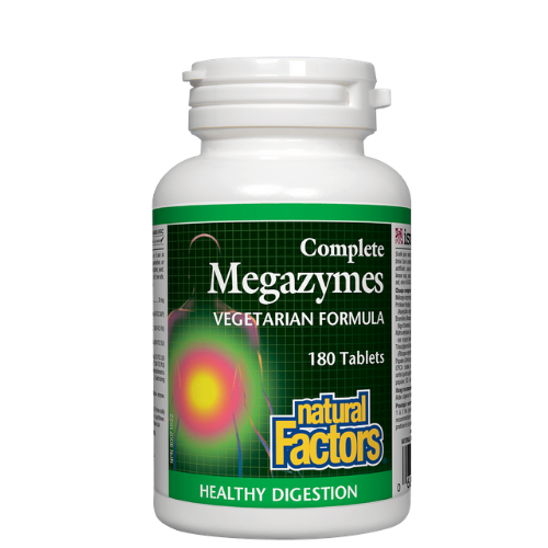 Natural Factors Megazymes Vegetarian Formula 180 tablets Canada