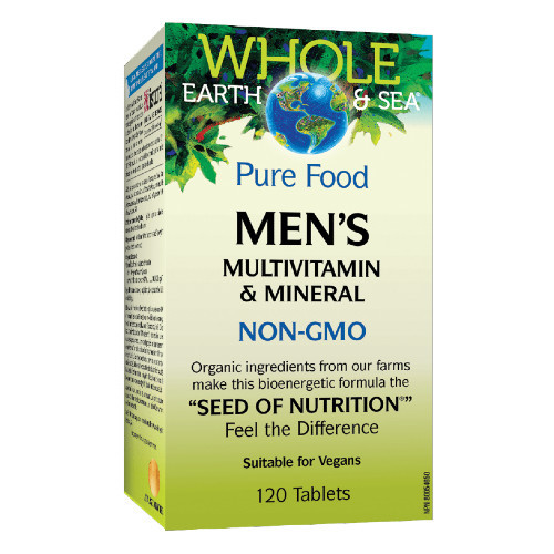 Whole Earth & Sea Men's Multivitamin & Mineral 120 tablets Canada