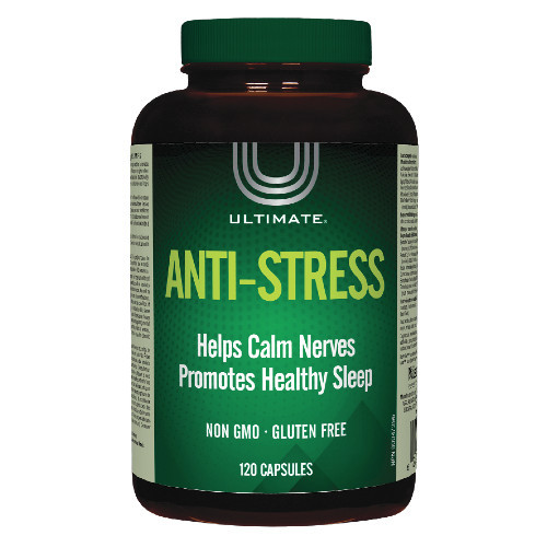 Ultimate Anti-Stress 120 capsules. NEW LABEL