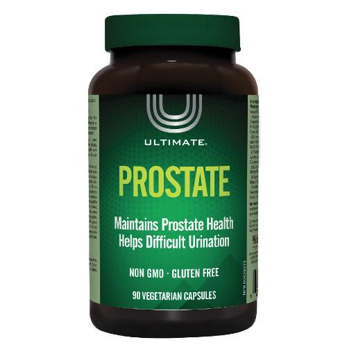 Ultimate Prostate 90 vegetarian capsules. NEW LOOK