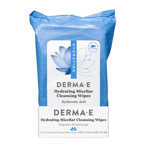 Derma E Hydrating Micellar Cleansing Wipes
