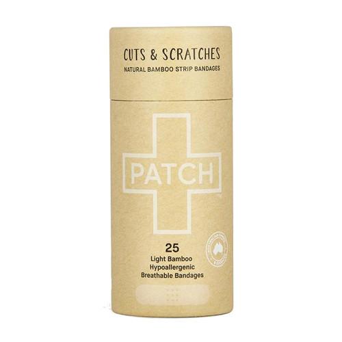 Patch Natural Adhesive Bandages 25 Light bamboo bandages