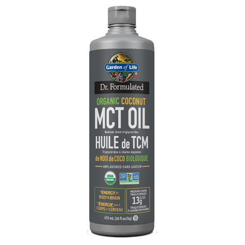 Dr. Formulated Organic Coconut MCT Oil 473 ml