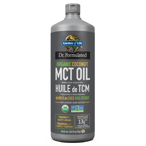 Dr. Formulated Organic Coconut MCT Oil 946 ml