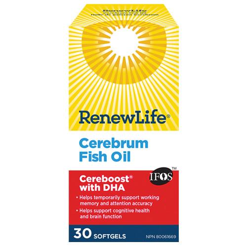 Renew Life Cerebrum Fish Oil 30 softgels