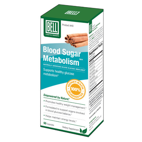 Bell Lifestyle Products Blood Sugar 60 capsules