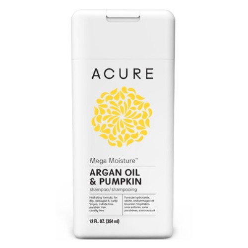 Acure Mega Moisture Argan Oil & Pumpkin  Shampoo 354 ml