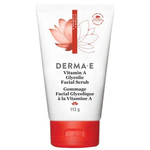 Derma E Vitamin A Glycolic Facial Scrub 113 grams Canada