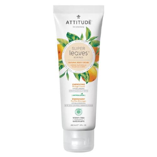 Attitude Super Leaves Science Energizing Orange Leaves Natural Body Cream 240 ml Canada