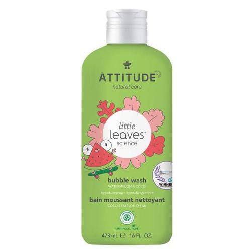 Attitude Little Leaves Science Bubble Wash Watermelon & Coco 473 ml